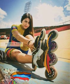 Inline Speed Skates, Skate Girl, Fit Girl Motivation, Biker Girl, Roller Skating, Rollers, Sport Girl, Things That Bounce, Retro