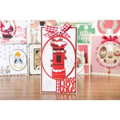 Tonic Christmas Rococo Die Set - Snowy Postbox (147096) | Create and Craft