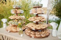 Real Weddings - Be inspired with real wedding photos of engaged couples. WeddingWire features real weddings in Colorado Cookie Table Wedding, Dessert Bar Wedding, Cookie Wedding Favors, Wedding Desserts, Wedding Cake Toppers, Wedding Desert Bar, Dream Wedding, Cookie Buffet, Cookie Bars