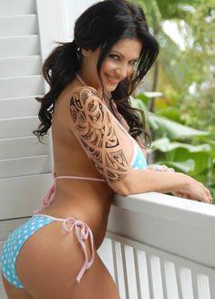 Back Shoulder Tattoos For Women   ... Tattoos For Wonderful Trendy Look   Tattoo Ideas For Men Women Mag