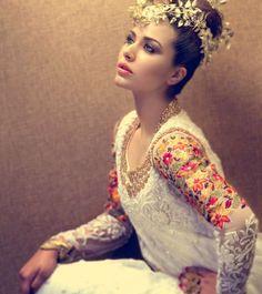 Mina Hasan, beautiful work on the sleeves esp