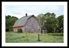 Empty Barn Framed Print By Bonfire #Photography