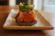 Salmon pastrami and avocado tartar    lumo lifestyle