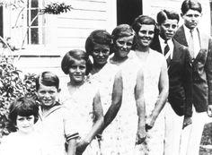 The Kennedy children. http://en.wikipedia.org/wiki/Kennedy_family http://en.wikipedia.org/wiki/Joseph_P._Kennedy,_Sr. http://en.wikipedia.org/wiki/Rose_Kennedy