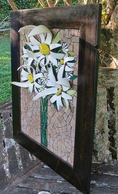 Flower Mosaic by Nikki Murray-Mason, Nikki Inc Mosaics, Bermuda