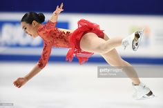 Mao Asada of Japan competes in the Ladies free skating during the Japan Figure Skating Championships 2016 on December 25, 2016 in Kadoma, Japan.