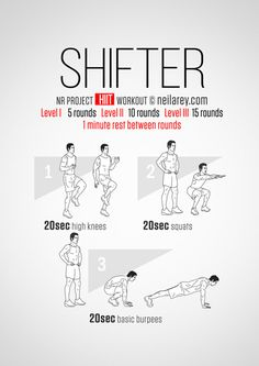 Shifter Workout