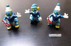 jouets figurines bleus avec drapeau union européen à vendre
