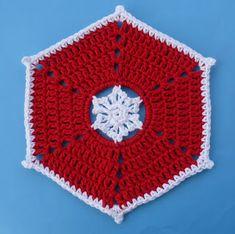 Whiskers & Wool: Snowflake Dishcloth - Free Pattern