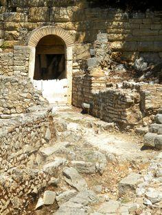 Ruins in Butrinti, Albania.