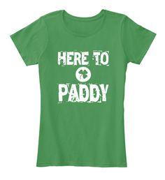 Here To Paddy . #stpatricksday #stpatricksday2018 #paddy #irishshirt #irish #StPaddy #StPattysDay #stpatricksdayshirts #beer #party #Whiskey #patty #shamrock #liver #shamrockshirt #StPaddy #LUCKYCHARM #kissmeimirish #ireland #leprechantreats #drunklivesmatter #IrishPride #american #Carnival #Drink #Gallagher #PattysDay #pub #17March . Get Your Lucky T-shirt Here: https://teespring.com/stores/stpatricksday-shamrock-irish