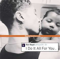 16yr old Roc Royal from. Mindless Behavior and he's 17yr old girlfriend just had their baby