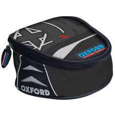 Black Oxford QR X15 Road Motorcycle//Bike//Motorbike Luggage Tank Bag