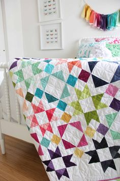 Moroccan Getaway Quilt    Hello! Very excited to participate in CYBER MONDAY!   We are offering 50% off all V and Co PDF Patterns   Whe...