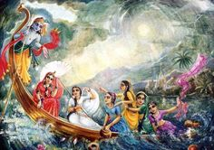 Krishna the boatman, when was this then?