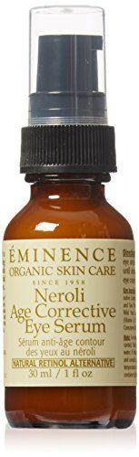 Eminence Neroli Age Corrective Eye Serum, 1 Ounce -- Check out this great product. Contour, Eminence Organics, Eye Serum, Organic Skin Care, Hot Sauce Bottles, Healthy Hair, Perfume Bottles, Eye Creams, Age