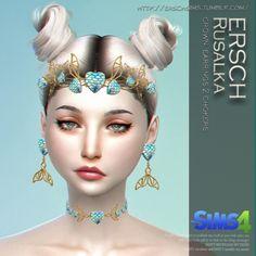 ErSch Sims: Rusalka set • Sims 4 Downloads