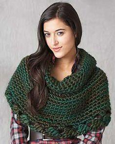 Ravelry: Really Big Crochet Cape pattern by Bernat Design Studio