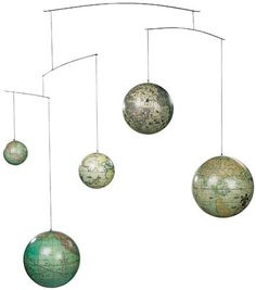 Authentic Models Globe Mobile contemporary-world-globes