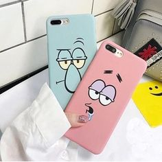 KL-Boutiques Cartoon Case For iphone 5 Cases Funny Face Couples Back Cover For Fundas iPhone 6 7 8 Plus Hard PC Case Coque - Iphone Funny Phone Cases, Cool Iphone Cases, Hard Phone Cases, Diy Phone Case, Iphone Phone Cases, Iphone Case Covers, 5s Cases, Couples Phone Cases, Best Phone Cases