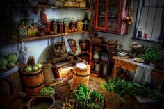 Merry Meet :))))) Many of the herbs, spices and other ingredients in your kitchen have magickal properties. When we have something we desire by working these ingredients into our meals and drinks …