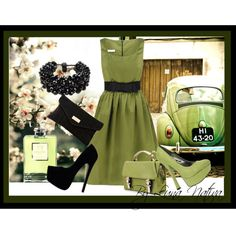 """""""It's pretty easy being green"""" by luna-nativa on Polyvore"""