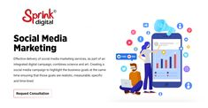 Effective delivery of social media marketing services, as part of an integrated digital campaign, combines science and art. Creating a social media campaign to highlight the business goals at the same time ensuring that those goals are realistic, measurable, specific and time-lined. #digitalinteraction #socialmediamarketing #marketingservices #socialmedia #smm #digitalmarketing #business #branding #entrepreneur #contentmarketing #onlinemarketing #advertising #instagram #socialmediatips Marketing And Advertising, Content Marketing, Online Marketing, Social Media Marketing, Digital Marketing, Business Goals, Business Branding, Digital Campaign, Media Campaign
