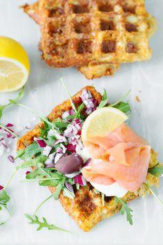 Waffles, Fries, Cheddar, Dinner, Breakfast, Healthy, Pierogi, Lchf, Food