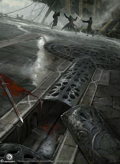 Assassin's Creed Revelations Concept Art, Martin Deschambault on ArtStation at http://www.artstation.com/artwork/assassin-s-creed-revelations-concept-art-26ccd231-7f6c-4481-937f-603a9c74ce62