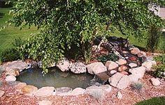 small ponds for backyard