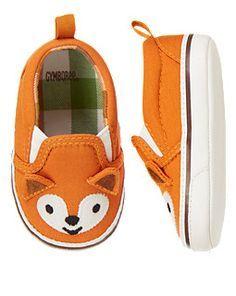 Fox Crib Sneaker (Gymboree nb-24m) @Laura Kloster  - too cute!