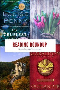 Reading Roundup - Never Enough Novels Inspector Gamache Series, Tell Me Three Things, The Cruelest Month, Good Books, Books To Read, Louise Penny, Feminist Books, Reading Charts, Reading Time