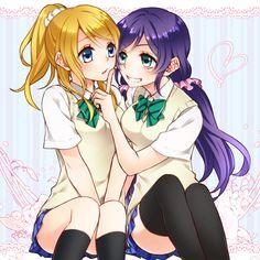 Love Live!. Ayase Eri, Toujou Nozomi