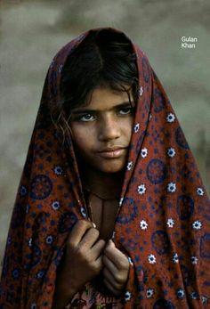 Sindhi Child with traditional Sindhi Ajrak