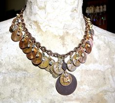 Personalized Mother's Day Coin Jewelry, birth year pennies with coordinating birthstones.