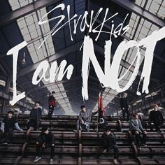 STRAY KIDS DISTRICT 9 / I AM NOT album cover Cool Album Covers, Cd Cover, Kids Collage, Wall Collage, Chris Chan, Pop Albums, Fandom, Thing 1, Kids Logo