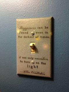HP light switch