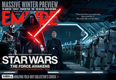 'Star Wars: El despertar de la Fuerza': El Lado Oscuro, protagonista de la nueva portada de 'Empire' - Noticias de cine - SensaCine.com