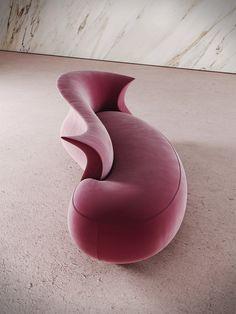 AMPHORA | Day bed By Desforma Modular Furniture, Funky Furniture, Unique Furniture, Home Decor Furniture, Sofa Furniture, Furniture Design, Sofa Design, Interior Design, Tout Rose