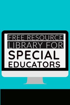 Looking for more activities to reach your students (and make your life so much easier)? Access this FREE special education resource library full of ready-to-download materials!