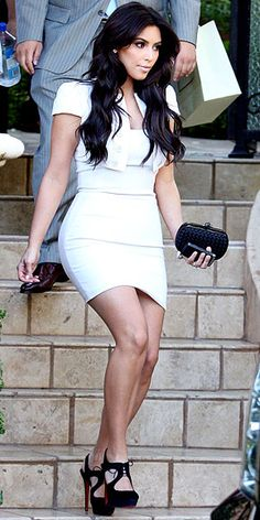 not a kim fan..but love the outfit and loubs of course