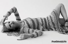 Дафна Гроенвельд для The Fashionable Lampoon