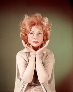 December 6: Agnes Moorehead! Pictured here as Endora on the television series, 'Bewitched' (1964 - 1972).