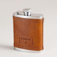 """This way up"" flask by J.Crew"