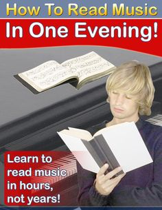 Learn The principles of Reading Music and have it make sense to you in just a few Hours, not Years!