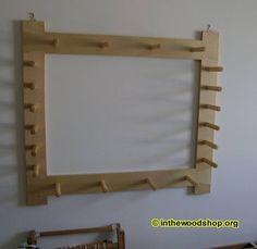 Weaver's Warping Board – With Plan 51.jpg (646×628)