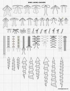 Illustrator Flat Sketch Details Library: Hardware & Accessories ...