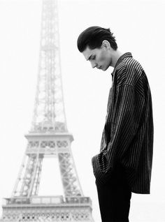 """Timur Simakovin """"Man About Town"""" Photographed byStephanie Volpatoand Styled byEtienne JeasonforL'Officiel Hommes - FunTimeFeed - Google+"""
