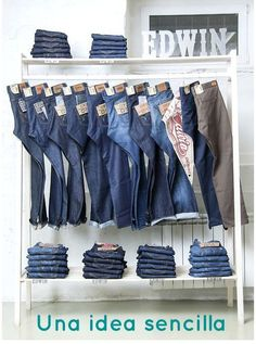 Simple Wall Mounted Clothing Racks Made With Kee Klamp