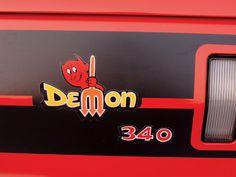 Plymouth Duster Cartoon Logo | 1971 Dodge Demon Emblem